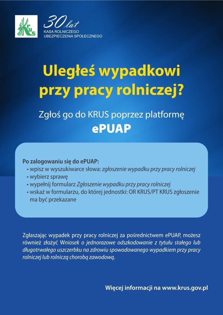 Plakat KRUS