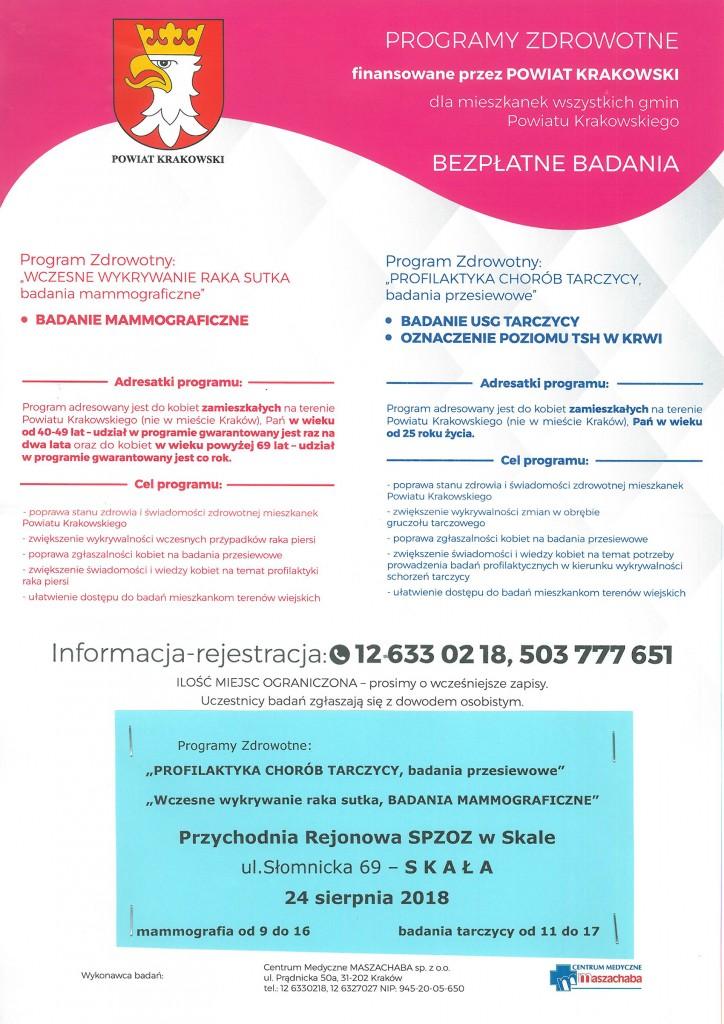 Badanie mammograficzne